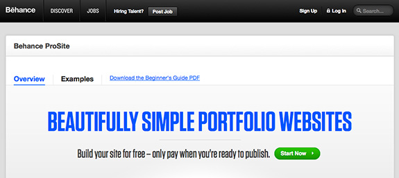Included Behance Pro Account