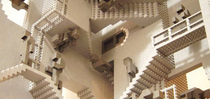 Cool Lego Optical Illusion Pictures