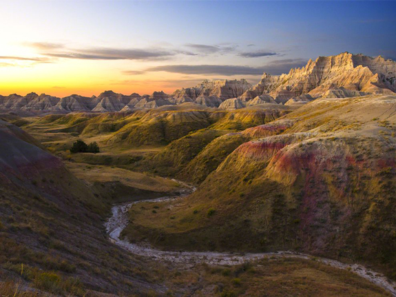 Sunrise, Badlands National Park