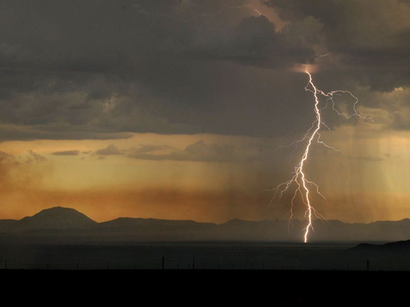 Lightning, New Mexico