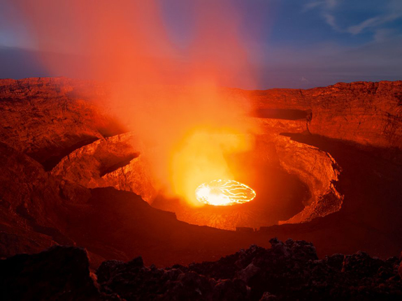 Lava Cauldron, Democratic Republic of the Congo