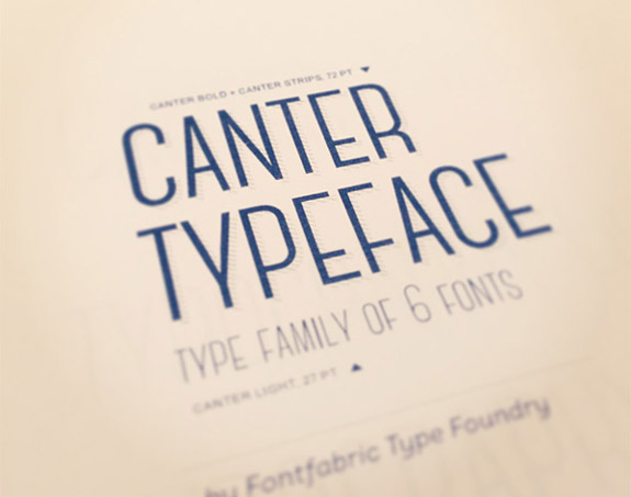 Canter Typeface Download