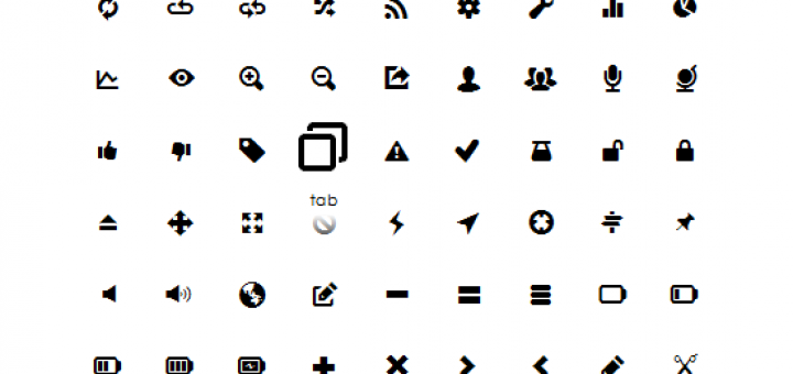 Free Font Icons