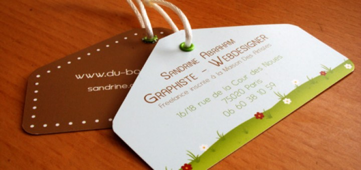 Modern Business Card Examples