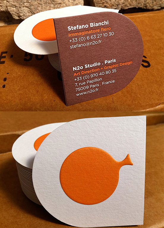 Unique Business Card Design Examples
