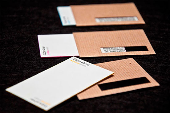 Modern Business Cards Example