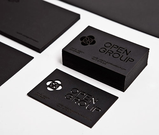 Modern Business Cards Design Example