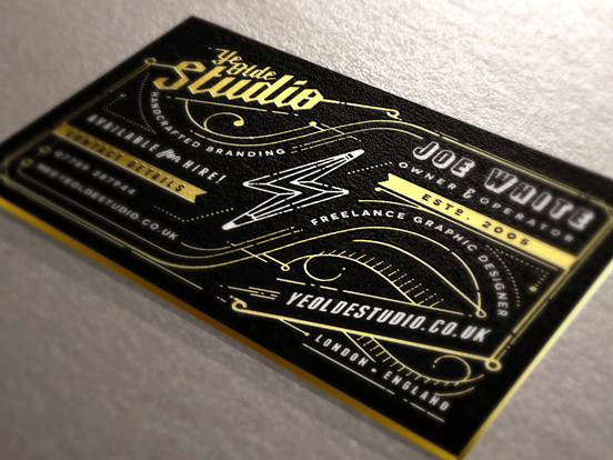 Modern Business Cards Designs Example