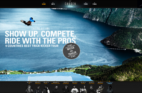Nike Sports Website Design