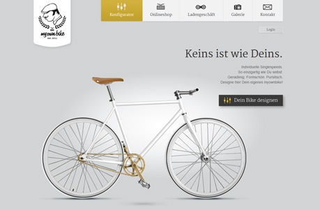 Bikes Website Design