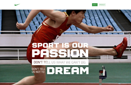 Creative and Beautiful Sport Website