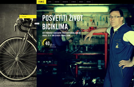 Bike Web Design