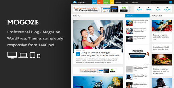 Mogoze - Responsive Magazine WordPress Theme
