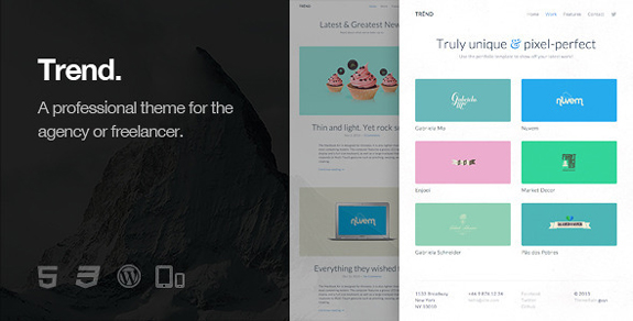 Trend - Responsive WordPress Theme