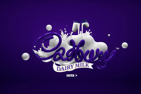 Cadbury Typographic Design