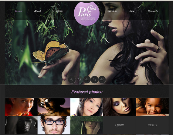 Free HTML5 and CSS3 Template