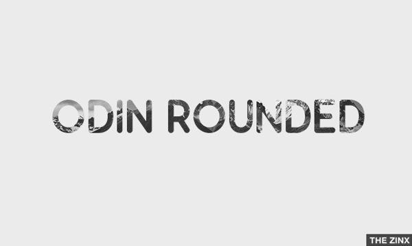 Odin Rounded - Free font