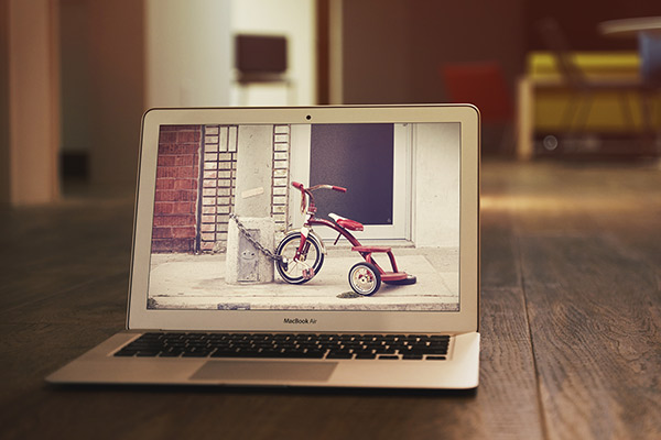 MacBook Air Mockup #2 PSD