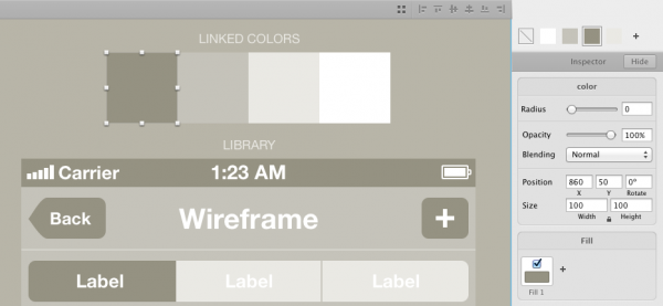 iPhone Wireframe UI Kit