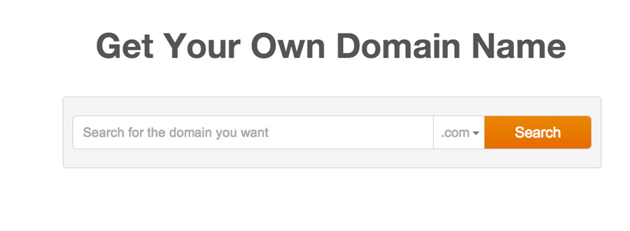 Get Your Own Domain